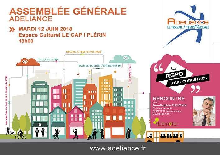 ASSEMBLÉE GÉNÉRALE 12 juin 2018 - Inscrivez-vous 0