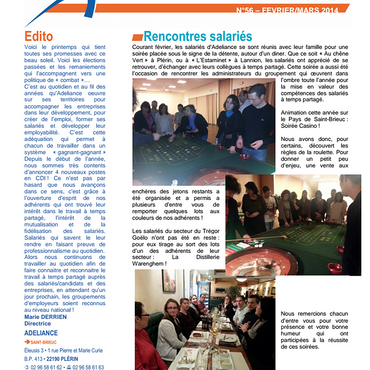 Adeliance News