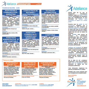 Adeliance Ressources n°5