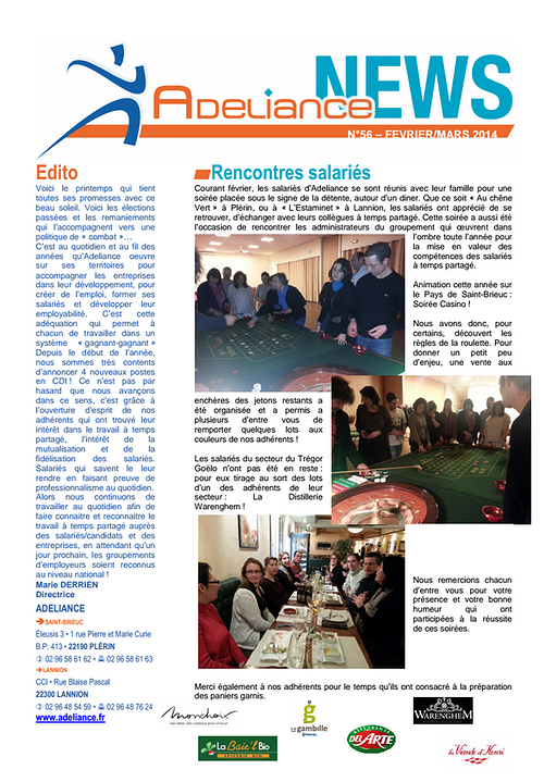 Adeliance News 0