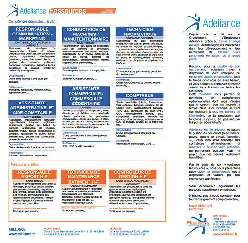 Adeliance Ressources n°5 0